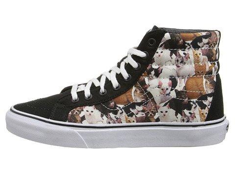 308ab92925ba1b Vans ASPCA Kittens High Tops Shoes True White SK-8-HI Reissue (6.5 B ...