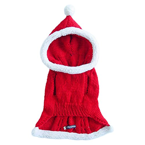 Haocloth Santa Costume Large Dog Christmas Sweater Costume For Large Dogs Pet Costume Christmas Costume - Headless Person Halloween Costume