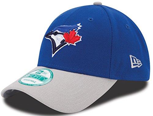 New Era MLB Toronto Blue Jays The League 2Tone 9FORTY Adjustable Cap, One Size, Royal (Caps Jays Blue Toronto)