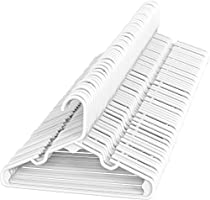Sharpty Children's Hangers Plastic, Kids Hangers Ideal for Everyday Standard Use, Baby Hangers Kids 20 Pack