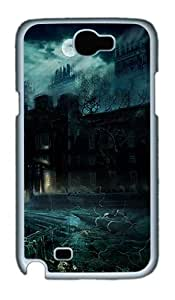 Samsung Galaxy Note 2 Cases, Samsung Galaxy Note 2 Case - Alone In The Dark PC Case for Samsung Galaxy Note 2 / N7100 White