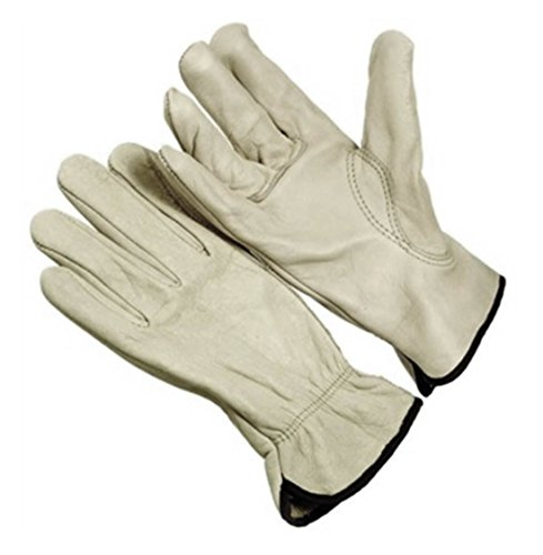 Seattle Glove Grain Cowhide Leather Driver Gloves, Unlined, Keystone Thumb, 3XL, One Pair