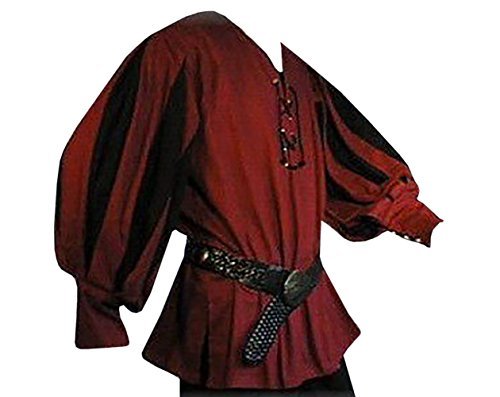 Mercenaries 2 All Costumes - Karlywindow Men's Medieval Lace Up Wide