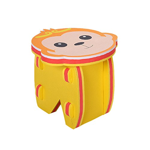 (Fityle Non Toxic Safety DIY Cute Monkey Puzzle Foam Chair Stools for Kids Toddlers)