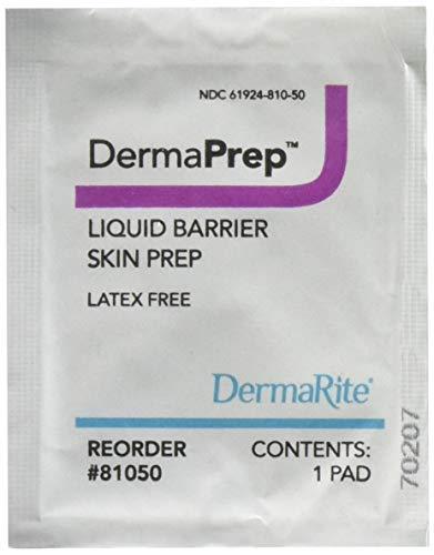 DermaRite DermaPrep Liquid Barrier Skin - Swab Protectant Skin