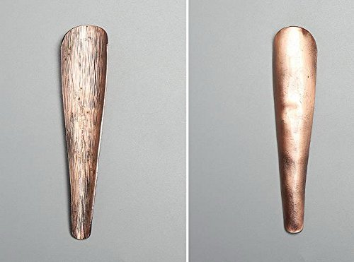 Tea Accessory Tea Spoon Tea Ceremony Japanese-style Red Copper Section Tea Scoop by Gentle Meow (Image #1)