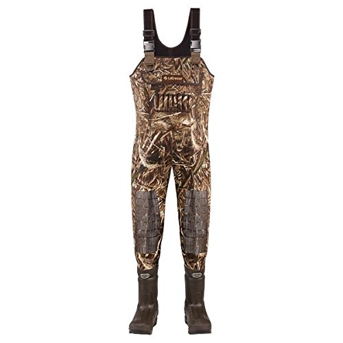 Double Tuff Boots - Lacrosse Brush Tuff Extreme ATS 1600G Insulated Wader - Men's Realtree Max 5 9 M