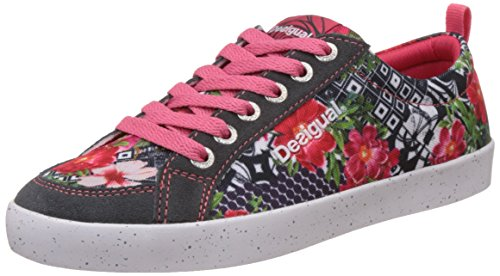 Desigual Shoes_classic B Damen Hallenschuhe Grau (Dark Grey)