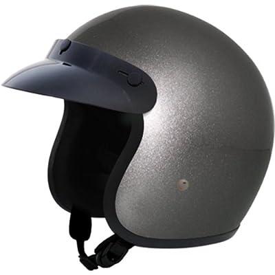 Daytona Basic/Custom D.O.T. Approved 3/4 Shell Cruiser Motorcycle Helmet - Gun Metal Grey / 4X-Large