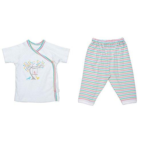 Under The Nile Pajamas (Under The Nile Baby Girls Layette Set Baby Birds NB)