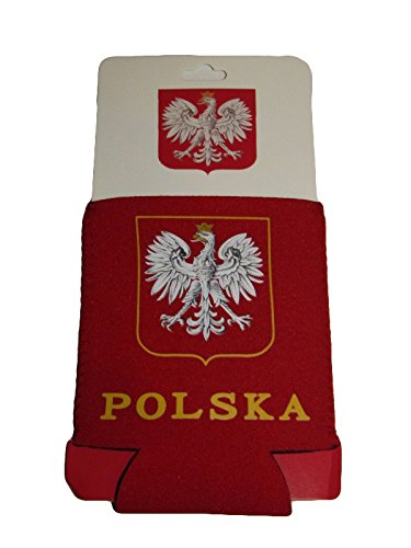 ALBATROS Poland Polish Polska Eagle Collapsible Insulated Printed Can Jacket for Home and Parades, Official Party, All Weather Indoors Outdoors