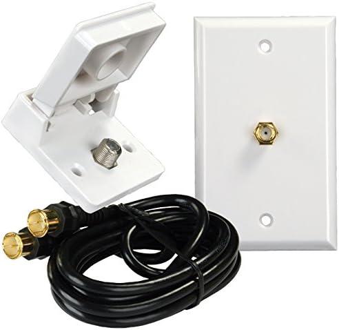 JR Products 47815 Interior//Exterior TV Installation Kit