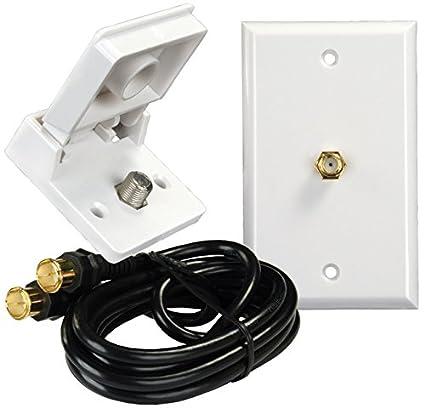 JR Products 47815 Interior/Exterior TV Installation Kit