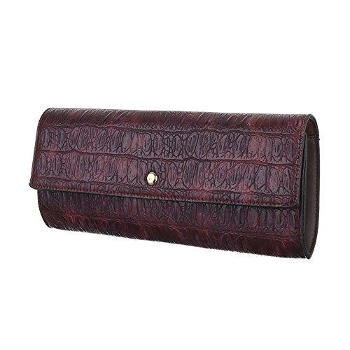 Ital-DesignClutch-tasche Bei Ital-design - Bolso de botón Mujer Braun Rot