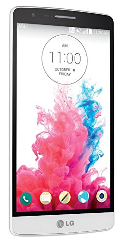 LG G3 Vigor D725 8GB Unlocked GSM 4G LTE Quad-Core Android 4.4 Smartphone w/ 8MP Camera - Silk White (No Warranty) (Renewed)