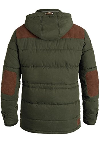 Da Jacket Uomo Long Ivy 3797 Dry Green Invernale Giacca Solid RwXTaY