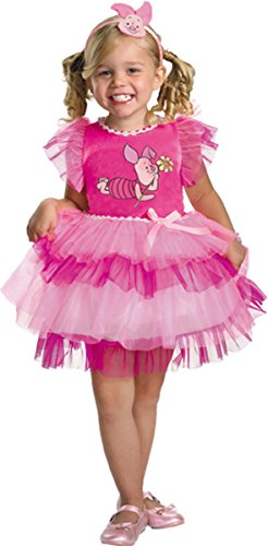 [Morris Costumes Baby Girl FRILLY PIGLET WINNIE POOH, 2T] (Baby Piglet Costumes)