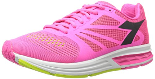 M Pink W running 9 5 Fluorescent Kuruka Women's Shoe Diadora US zWcZfZ
