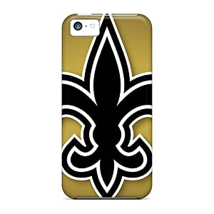 DateniasNecapeer Snap On Hard Cases Covers New Orleans Saints Protector For Iphone 5c