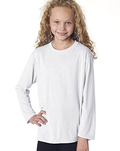 Fashion Gildan 42400B Youth Core Performance T Shirt White X