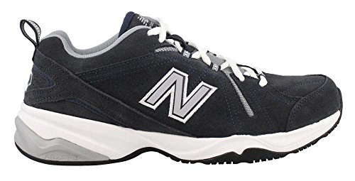 (New Balance Men's MX608v4 Training Shoe, Navy, 11 D)