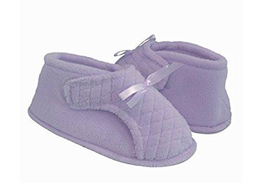 Slipper Adjustable XL Womens Lilac Bootie Ezw6Zfq8