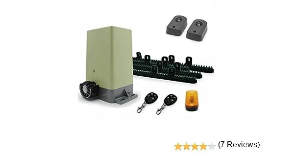 Motor Avidsen para puerta corredera con automatismo y fotocélulas de motorización corredera.: Amazon.es: Iluminación