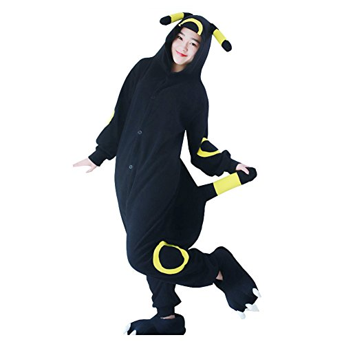 Uomo Umbreon Costume Animale Adulto Attrezzatura Kigurumi Halloween Yimidear Donna Pigiama Cosplay Pigiama fawzqPB7