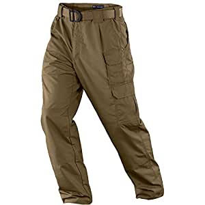 5.11 Tactical Men's Taclite Pro EDC Pants, Battle Brown, 28-Waist/30-Length