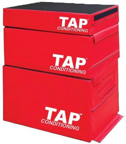 Box Jumps For Sale >> Tap Safe Jump Plyo Box Set Red