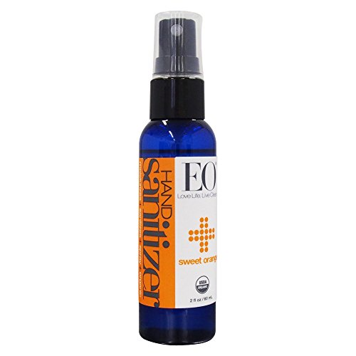 EO Products Hand Sanitizer Spray, Orange, 2 Ounce