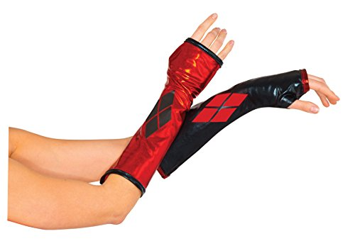 Batman Products : Harley Quinn Arm Warmers - Batman Gauntlets for teens and adults