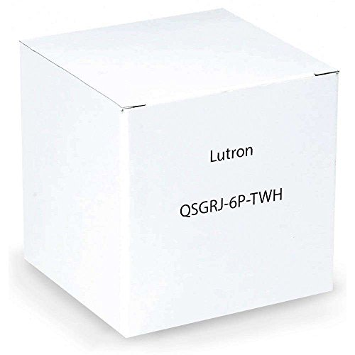 Lutron QSGRJ-6P-TWH Electrical Distribution - Grafik Eye