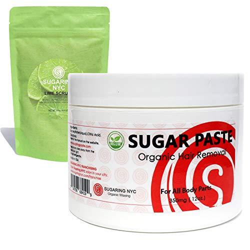 Sugaring Organic Wax + Sugaring NYC Organic Lime Scrub