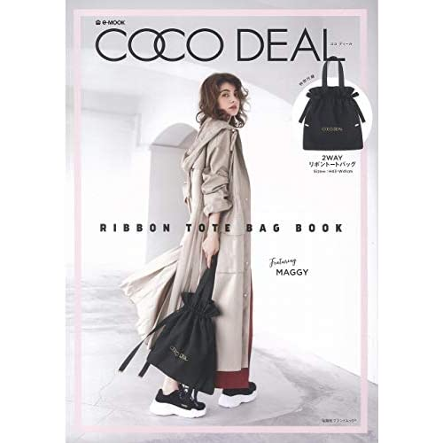 COCO DEAL RIBBON TOTE BAG BOOK 画像