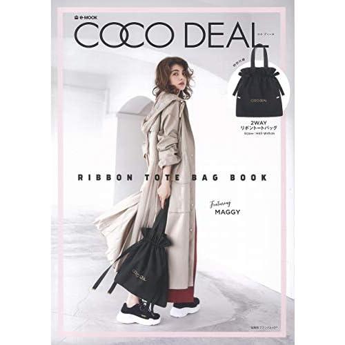 COCO DEAL RIBBON TOTE BAG BOOK 画像