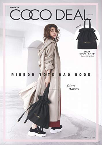 COCO DEAL RIBBON TOTE BAG BOOK 画像 A