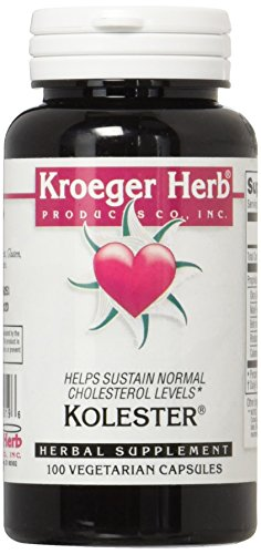 Kroeger Herb Kolester Capsules, 100 Count