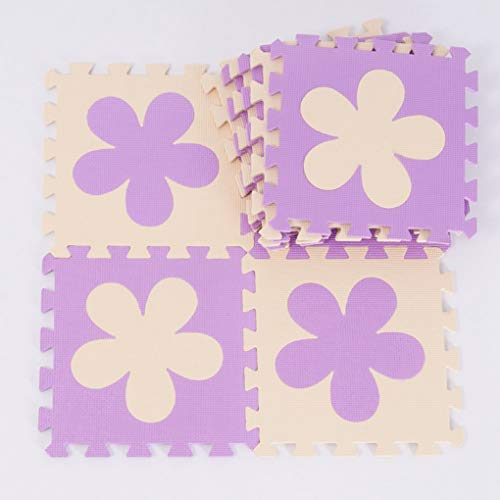 - RXIN Kid Crawl Carpet Playmat Flower Baby Eva Foam Play Puzzle Mat / 10Pcs/Lot Interlocking Floor Mat,Each 30Cmx30Cmx1Cm=12