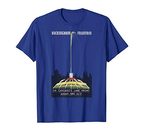 (Buckingham Fountain T-Shirt)