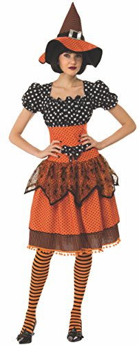 Rubie's Women's Standard Polka Dot Witch, as as Shown Medium ()
