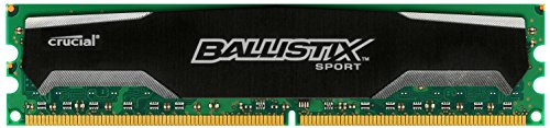 Mod Small Media (Ballistix Sport 2GB Single DDR3 1600 MT/s (PC3-12800) UDIMM 240-Pin Memory - BLS2G3D1609DS1S00)