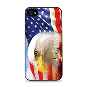 Flag With Eagle iPhone 5 / 5S Black 2-in-1 Case