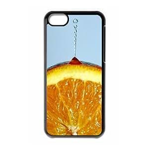 Unique Design Customized Phone Case for Iphone 5C Case Cover with Orange Image WMJU173510