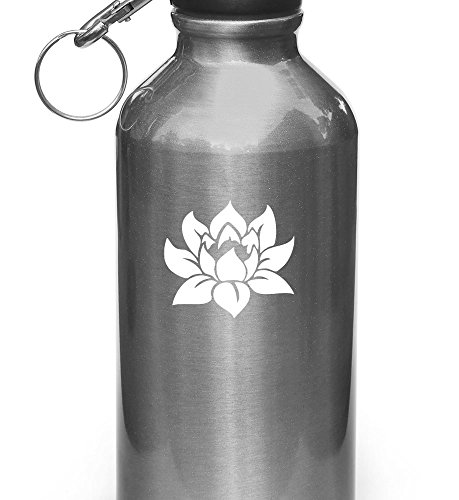 Lotus Flower - Design 1 - Vinyl Decal for Water Bottle | Thermos Vinyl Decal Copyright Vinyl Decal Copyright © Yadda-Yadda Design Co. (2