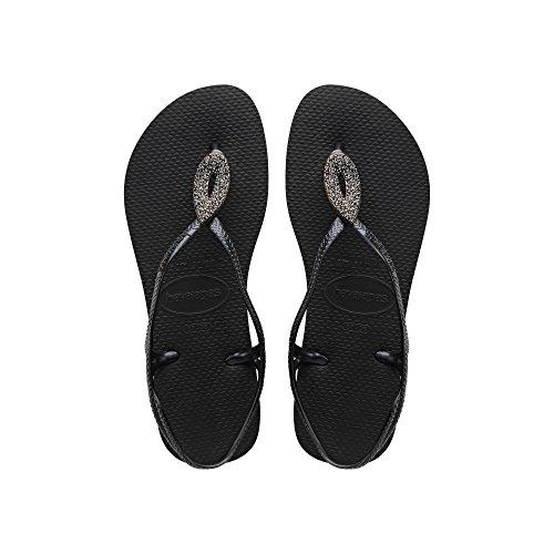 Havaianas Luna Sandalen Voor Speciale Dames Zwart Zwart