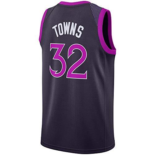 Men/Youth_Karl_Anthony_#32_Basketball_Fans_Jerseys_Purple_Game_Jersey