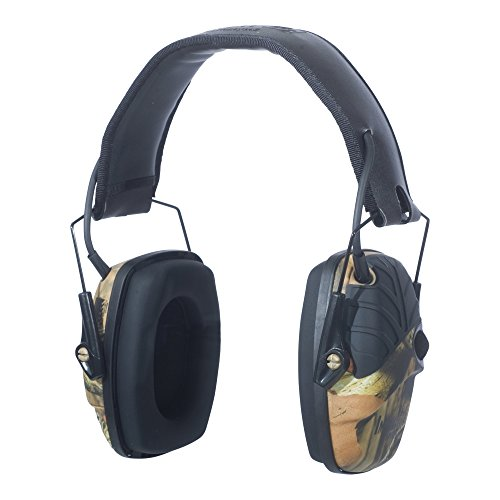 Howard Leight by Honeywell Impact Sport Sound Amplification Electronic Earmuff, Camo (R-01530)