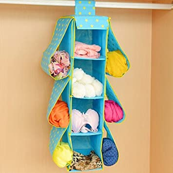 Washable Fabric Handbags Wardrobe Closet Hanging Storage Box Space Saving  Household Accessory Storage Organizer For