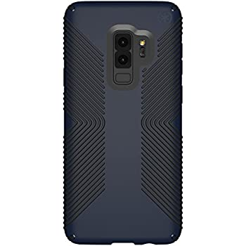 finest selection 99495 25550 Speck Presidio Grip Samsung Galaxy S9 Plus Case, Eclipse Blue/Carbon Black